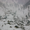 Rural residents in Kashmir's mountainous areas have to put up with harsh winters