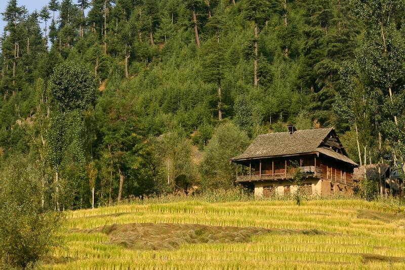 A cabin in the mountains of Kupwara, Kashmir
