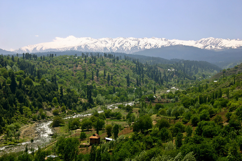 Kashmir's Pir Panjal range, pleasant and inviting