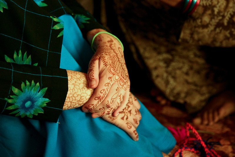 Henna is popular all over India