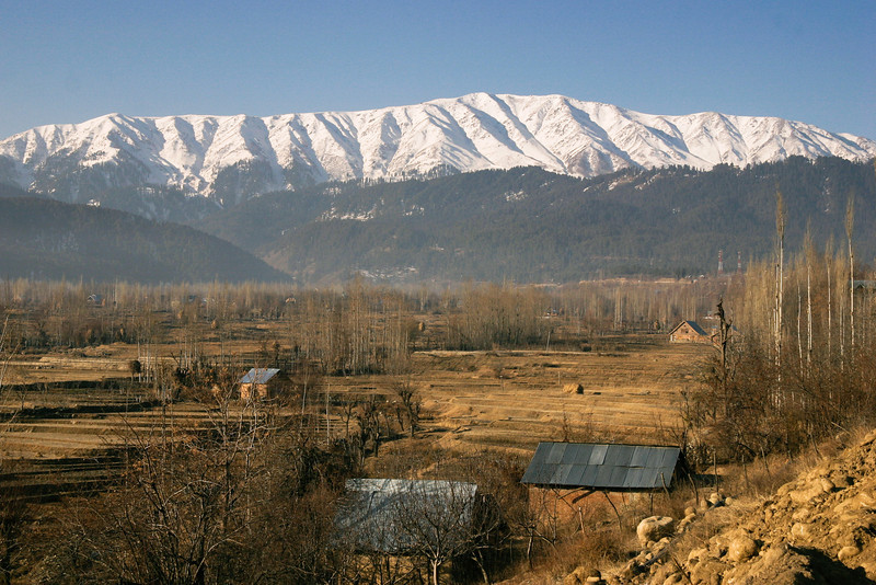 The view towards Gulmarg, Kashmir's premier ski resort