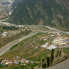 Every summer, hundreds of thousands of Hindu pilgrims come to Kashmir to trek to the important Amarnath shrine. Huge tent cities form at the base camps.