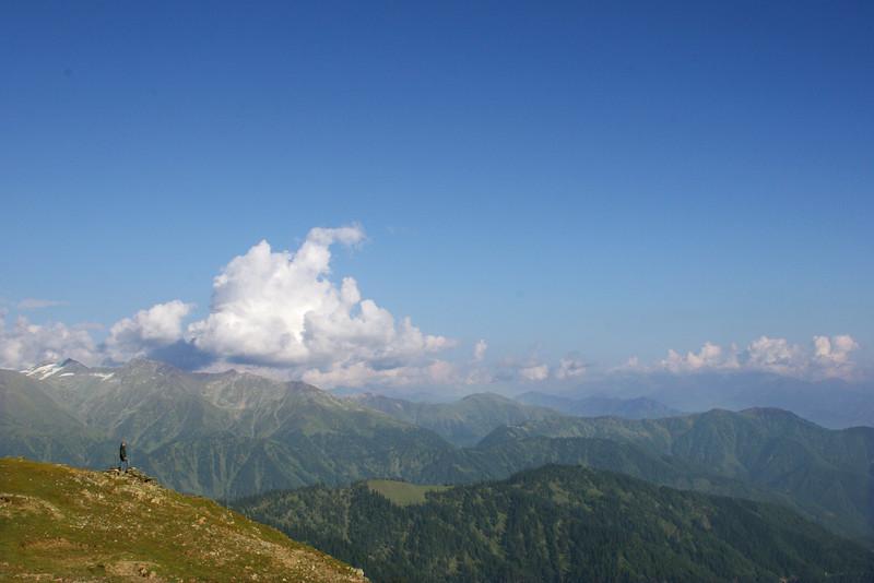 The foothills of the Himalaya in Kishtwar, J&K