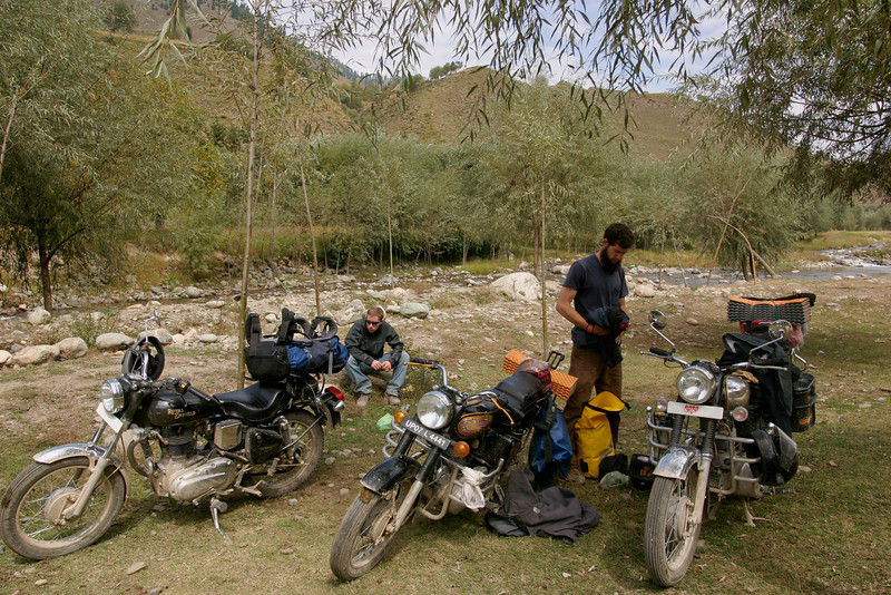 The Royal Enfield Bullet - perfect for a Himalayan road trip!