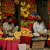 Fruit sellers in Anantnag, Kashmir