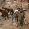 A Gujjar homestead near Pahalgam, Kashmir