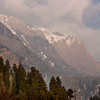 The mountains near Pahalgam, Kashmir