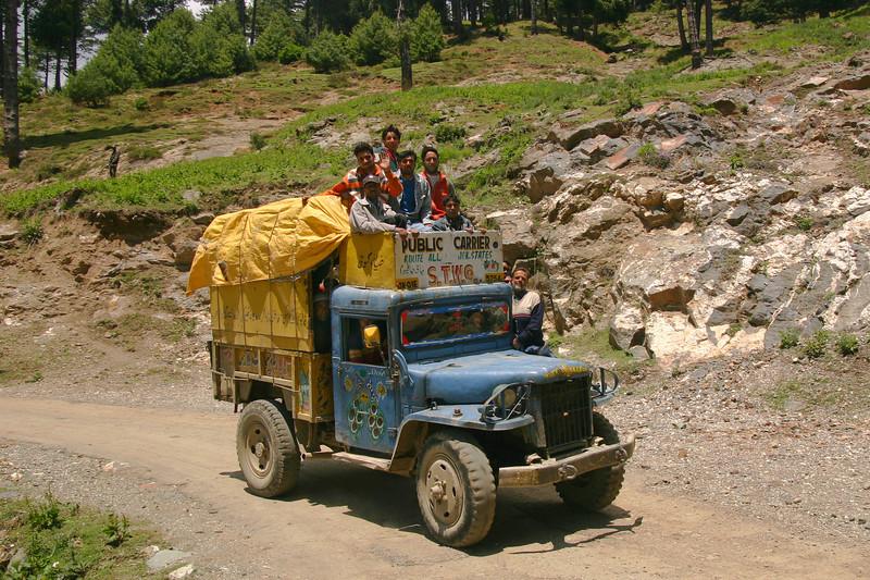 Village transport, Kashmir