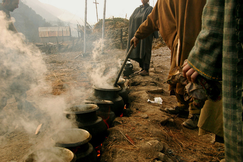 Stirring up the pot: Kashmir is famous for a number of delicious meat dishes