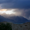 Sunset rain, Shyok Valley, Ladakh