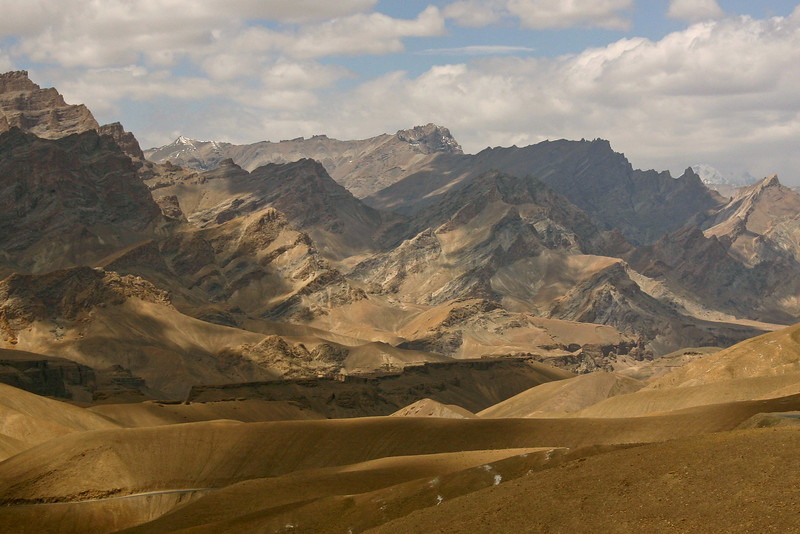 I took this shot out the window of a moving vehicle, on the drive from Leh to Srinagar