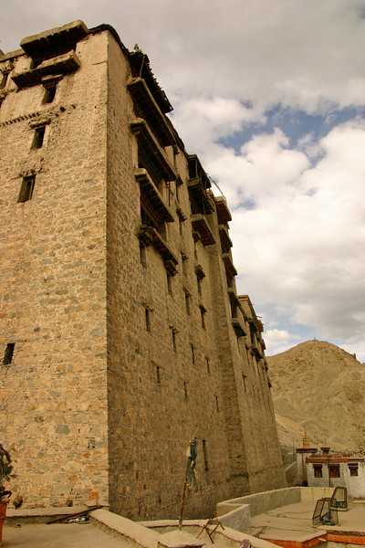 The Royal Palace in Leh is still an imposing structure 400 years after it was built
