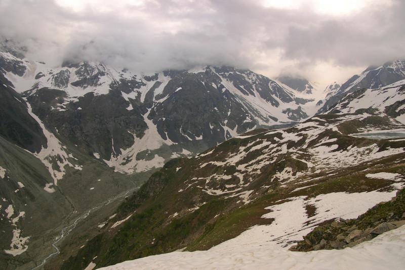 The Kolahoi valley in Kashmir