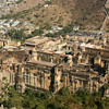 Amber Fort, outside Jaipur, Rajasthan, built in the late 1500s