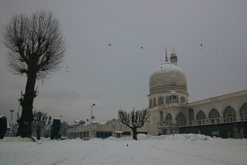 Hazratbal Mosque, Srinagar, Kashmir