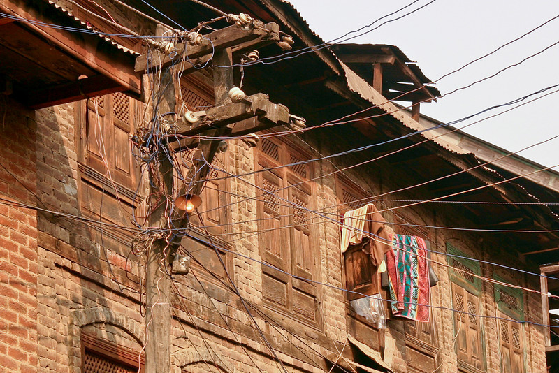 Traditional electric wiring