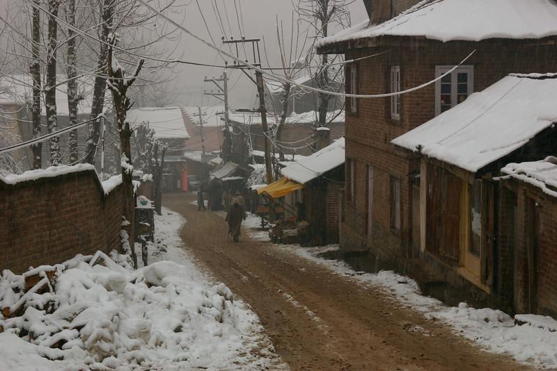 Srinagar in winter
