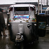 Where else can you see an auto-rickshaw covered in snow?! Kashmir, India.