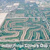 The Indian Ridge development from the air looking west