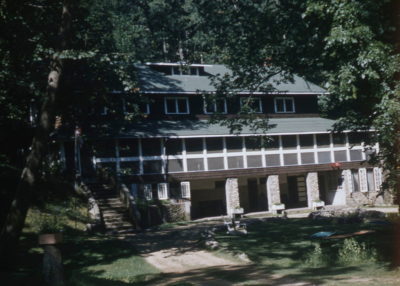 Indian Springs Lodge in Steelville, MO.  We spent several Vacations here in the 1950s and really liked the place.