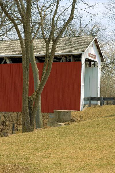 Matthews covered bridge, Grant County, Indiana.