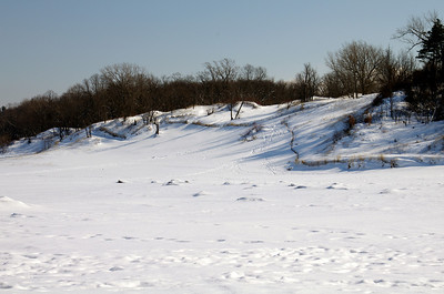 Indiana Dunes at Winter