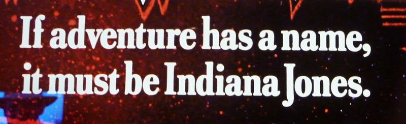 """Indiana"" Jones, iconic adventure character"
