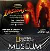 """For over 30 years, audiences around the world have followed Indiana Jones on his quests for adventure, fortune, and glory. The exhibition features real fascinating archaeological artifacts, along with an extensive collection of original Indiana Jones™ film materials that will take you on the adventure of a lifetime.<br /> <br /> ""Upon entering, you are immersed in the world of Indiana Jones in an exhibit environment created with state-of-the-art technology. Equipped with a personal video companion, you embark on a quest to uncover the true origins of archaeological mysteries. An original audio greeting recorded by Harrison Ford welcomes and invites you to begin a journey into the science of field archaeology. Charged with comprehensive content, photos and videos, the interactive hand-held device guides you on the ""Indy Trail"" and through the various archaeological zones.<br /> <br /> ""Indiana Jones™ and the Adventure of Archaeology features an exclusive collection of original Indy props, models, concept art and costumes from all the films. It also presents a wealth of historical and cultural facts and objects. Photos, videos, and content from National Geographic's historic archive are featured alongside a remarkable array of archaeological artifacts and educational material from the internationally renowned University of Pennsylvania Museum of Archaeology and Anthropology.""<br /> <br /> SOURCE National Geographic Society (n.d.) Indiana Jones and the Adventure of Archaeology. Retrieved 25 August, 2015 from <a href=""http://events.nationalgeographic.com/exhibits/2015/05/14/indiana-jones-and-adventure-archaeology-2/"">http://events.nationalgeographic.com/exhibits/2015/05/14/indiana-jones-and-adventure-archaeology-2/</a>"