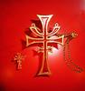 "Symbols of ""the Brotherhood of the Cruciform Sword..."