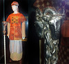 "Hebrew High Priest costume worn by Indy's nemesis in ""Raiders of the Lost Ark"", French archaeologist René Belloq, when he opened the Ark of the Covenant."