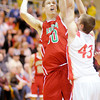 Don Knight / The Herald Bulletin<br /> Madison County Boys Basketball Tournament at Pendleton Heights on Saturday.