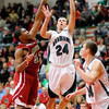 Anderson faced Pendleton Heights for the County Championship on Friday.