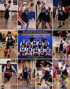 Brookfield's 2009 6th Grade Boys Travel team had an 11 x 14 poster featuring the team and each player as a keepsake from their championship season.
