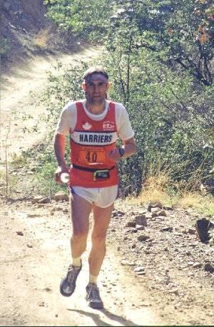 Individuals - George Tyahur at a U.S. ultramarathon