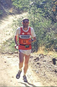 Individuals - George Tyahur at a U.S. ultramarathon