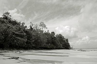 the beach near ambon