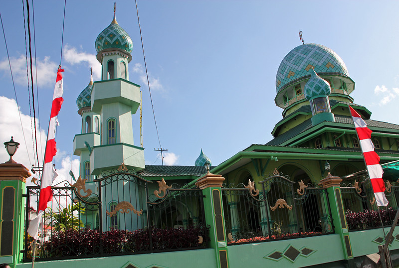random ambon. mosque.