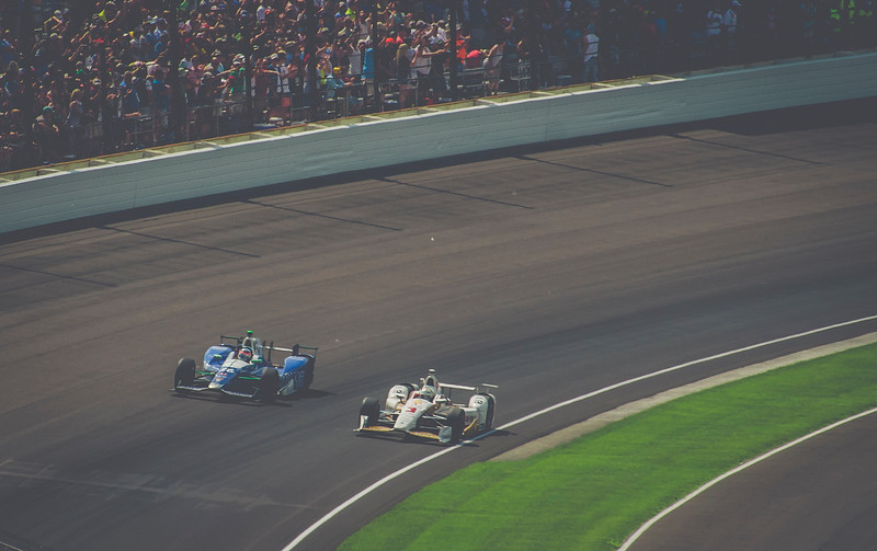 Castroneves and Sato...