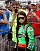 Danica Patrick at the Indianapolis Motor Speedway...
