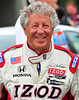 Mario Andretti at the Honda Mid Ohio Indycar race...