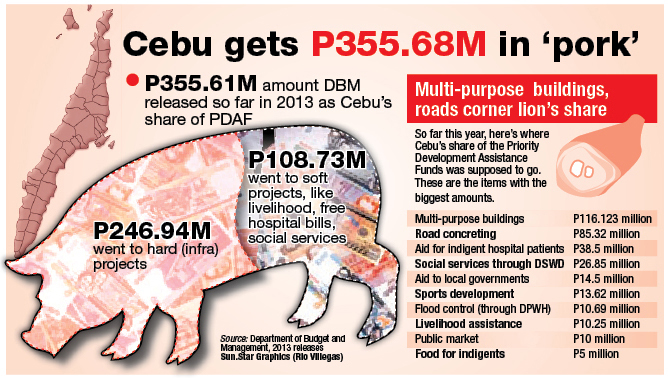 Infographics: Pork barrel cuts