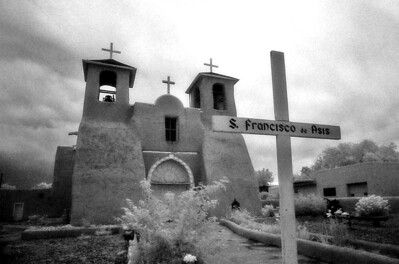 SAN FRANCISCO de ASIS MISSION CHURCH Rancho de Taos, New Mexico