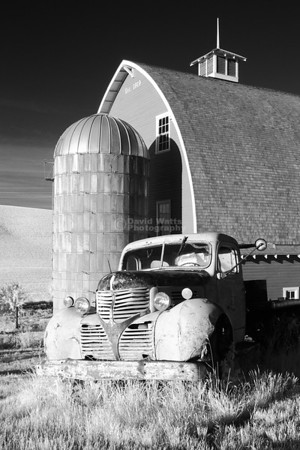 Barn and Truck Infrared