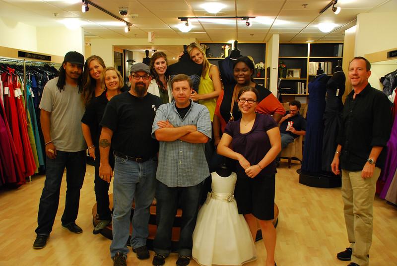 Wedding TV show crew