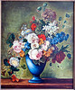 Flowers, oil on canvas, 1980