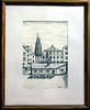 """Regensburg """"Historische Wurschtkuchl"""", ink drawing, 1995"""