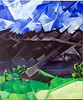 """Walensee"", acrylic paint, matte varnish, 2009"