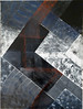 """Snowstorm"", acrylic paint, gouache, brush and sponge, matte varnish, 2009"