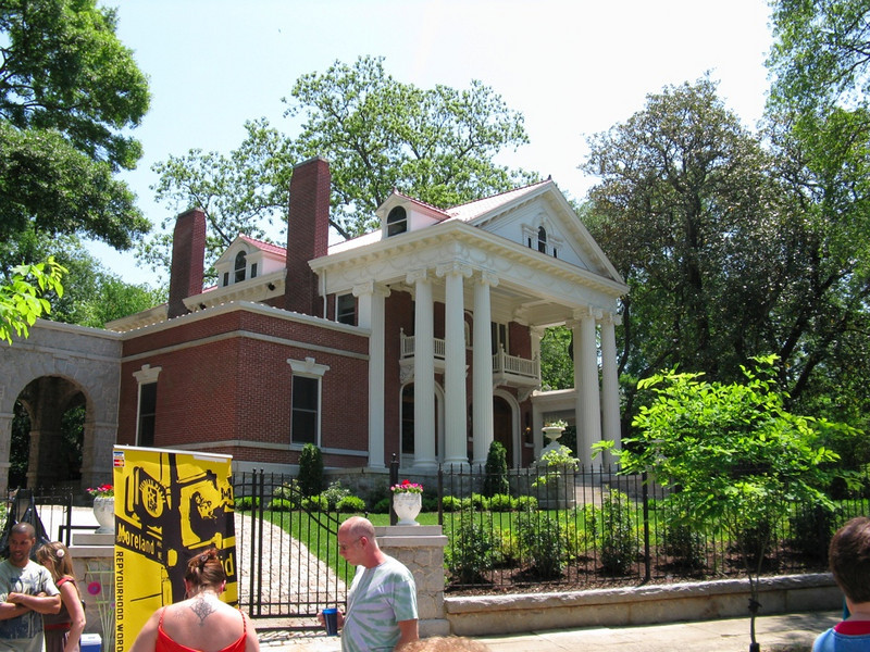 The Candler Mansion, which my parents almost bought once. Sigh...