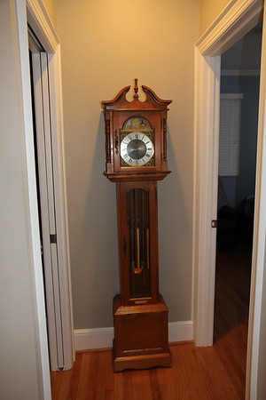 """special area for clock, but after having it """"fixed"""", Ed won't use it because TEX doesn't like the sounds"""